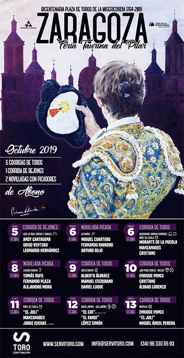 Zaragoza bullfight tickets 2019