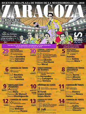 Feria taurina Zaragoza 2018